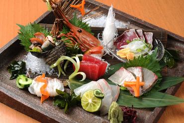 鮮魚のお刺身五種盛り合わせ(2人前)