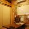 個室はゆったりと座れる落ち着いた空間!!