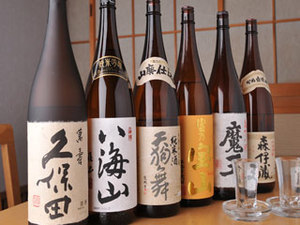焼酎、地酒各種
