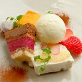 アイスクリームまで全てが自家製『デザート盛り合わせ』