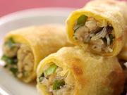 えびのチリソース/ニラともやしの炒め/ワンタンスープ/白菜の酢の物/ザーサイ/ご飯/杏仁豆腐