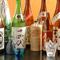 当店厳選の日本酒、焼酎、希少な銘柄も