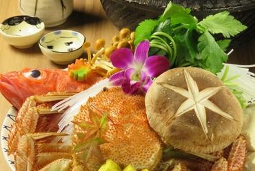 北海道の味覚キンキと毛蟹のしゃぶしゃぶ 通常15000円⇒13000円