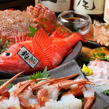 とろける道産牛・ズワイ蟹・牡蠣の豪華すき焼コース10000⇒8000