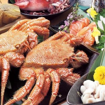 北海道をまるごと食べ尽くしコース! 通常10000円⇒8000円