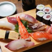 まんぷく寿司定食(ランチタイムのみ)