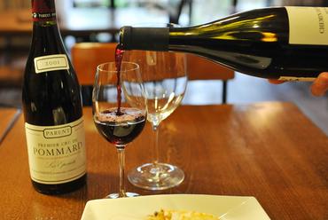 季節のお料理に合わせたワイン