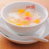 優しい甘味が〆にピッタリ『杏仁豆腐』
