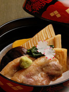 加賀名物料理の治部煮