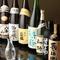 日本酒、焼酎 各種ご用意しております