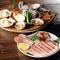 国産・北海道産の新鮮な食材を炭火焼でお愉しみください。
