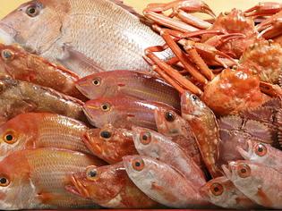 お客様のリクエストに合わせて、旬の魚介を取り寄せています