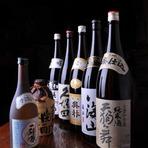 日本酒・焼酎も充実