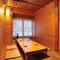 檜の部屋(6名様)ほか杉・桐・松の部屋をご用意しています