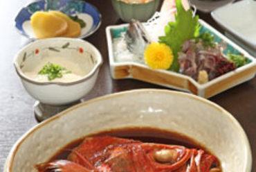 金目鯛の煮付けご膳