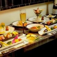 しっかり食べたいお客様には料理満載のコース! ※クーポン利用で4500円(込)