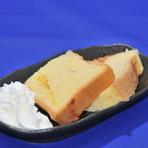米粉の手作りシフォンケーキ