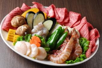 お一人様3500円~ 10名様以上で3日前までに要予約 【お肉のランク選べます!】