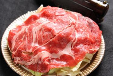 蒸気焼(牛ロース薄切り180g)