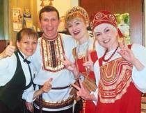 ベラルーシと周辺国出身の女性スタッフ
