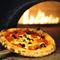 オリーブガーデンのピザは生地から手作り。