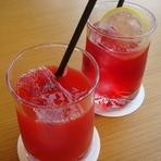 ブラッドオレンジジュース (アイス)