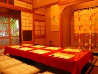 純和風のくつろぎの和室、季節の料理に向かい合うひととき