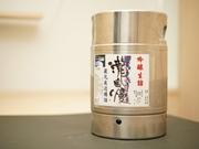 伊勢志摩サミットで乾杯酒として使用され、その実力は全国区に。当店は特別通年確保しております! キレ味抜群で、透明感のある上品な味わいです。グラス 750円/1合 1250円