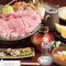 ◆元祖肉の水炊きコース  特選松阪牛を使った名物鍋。