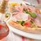 シャキシャキ野菜と生ハムピッツァ