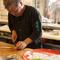 広島県産の旬の食材で、素材を活かして、鷹の風味を