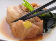 フジサクラポークの『豚の角煮』