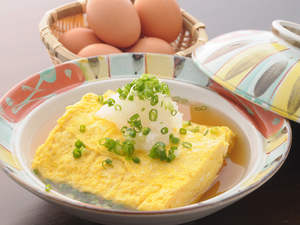 もみじ卵の『だし巻き卵』