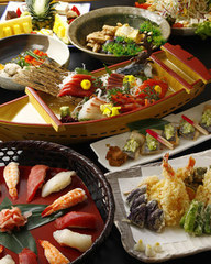 【平日限定】宴(うたげ)大皿コース3000円+飲み放題2000円の通常5000円のコースが4000円!