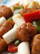 本場中国の黒酢を使った広東風酢豚