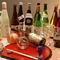 地酒各種。純米・吟醸酒を中心に各種地酒を1合取分けでOK。