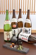 愛媛の地酒など、日本酒も充実