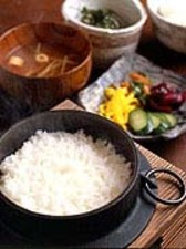 釜炊き銀シャリ