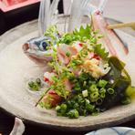 季節の鮮魚ををお楽しみください。