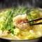 名物料理の『秘伝特製モツ鍋』をはじめ、美味しい料理が勢揃い