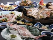 鯛の活造りコース(通年)