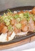 カルビ鉄板焼(お肉メニューもあります!)
