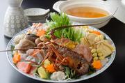 ぐそく鍋DX/神戸牛しゃぶしゃぶ/神戸牛すきやき/魚すき/魚ちり/すっぽん鍋 より+2000円で前菜・お造りが付く鍋懐石も選択可。※2名様より承ります。※季節により、食材のご用意が難しい場合がございます。