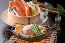 四季折々の旬の食材を使った懐石料理がご堪能いただけます。