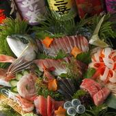 鮮魚を、なるべく「安く」、「お腹いっぱい」食べられます