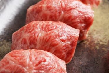 仙台牛大トロの炙り寿司
