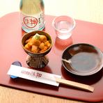 握りや、丼物意外にも酒の肴もご用意いたしております。小樽の地酒と共にいかがでしょうか?