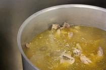 ラーメンの命である美味スープ