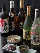 日本酒・焼酎を中心に豊富にご用意