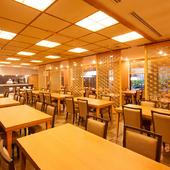 湯本富士屋ホテルの1階に位置するレストラン